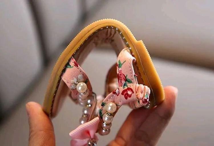 7.12团品夏季女童公主凉鞋